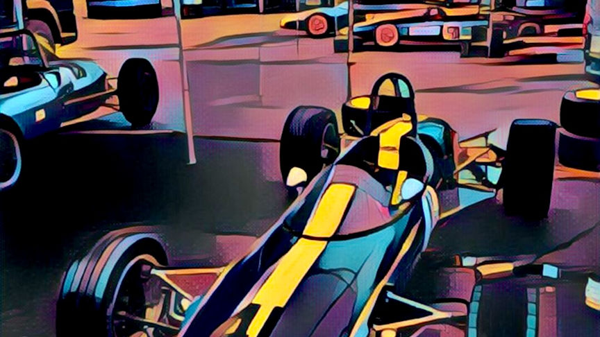 Lotus 41 Illustration